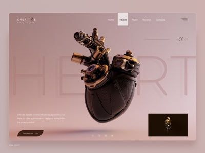 Креативное дизайн агентство - Heart dribbble digitaldesign userinterfacedesign userinterface visualdesign uiinspiration uitrends uidesign webdesigning webdevelopment websitebrainy web webdesignanddevelopment uxdesigning webdesing uidesigns webdesigninspiration website webdesign design