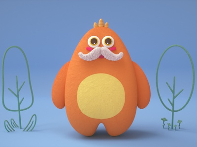 Bigboy branding commercial illustraion cinema4d octane character design illustration 3d