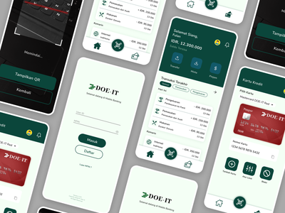 Mobile Banking App money simple design ui mobile ui mobile banking app mobile banking mobile app finance app finance figma