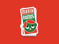Maria Ramos Brand Sticker