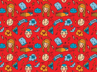 "Pattern ""Sleep"" from Series Casa de Ramos"