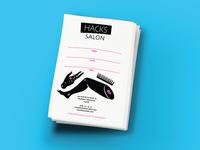 Branding Identity | Hack Salon Appointment Card