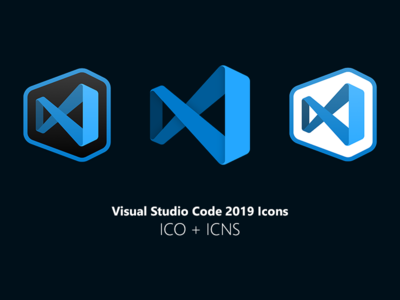 Visual Studio Code 2019 Icons code studio visual download editor icns ico icons icon mac windows microsoft visual studio vscode visual studio code