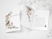 sooon graphicdesign cards aquarelle b2b greeting card christmas illustration waterfall