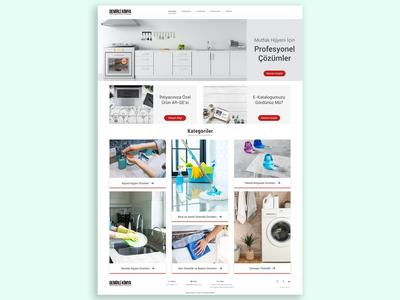 Cleaning Company Homepage kitchen soap shopping app shopify add clean product uidesign homepage landing webdesign website ux uiux ui banner shopping shop
