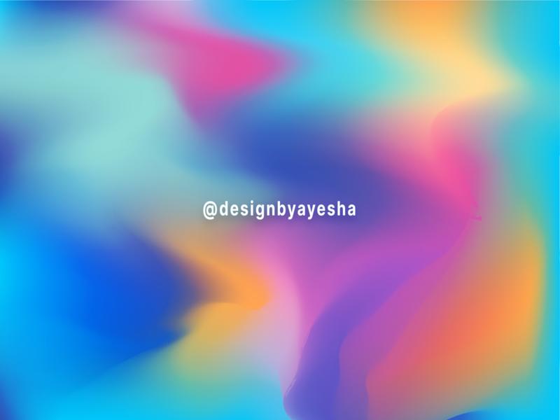 Gradient mesh wallpaper creativity colour yellow pink blue amazing meshtool wraptool wallpaper colourful gradient effect practice illustrator photoshop graphics graphicdesign designer designbyayesha design