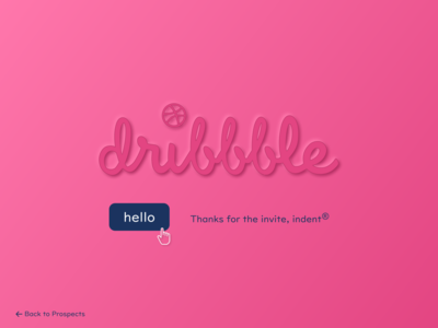 hello Dribbble hello dribbble