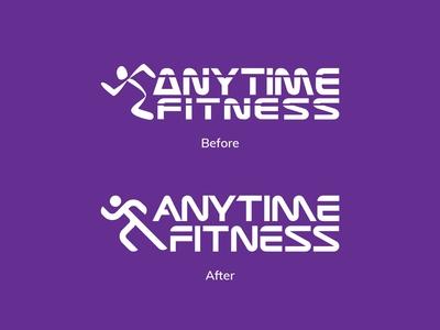 Anytime Fitness Rebrand