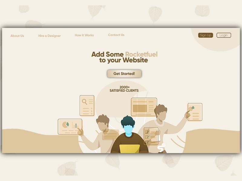 Freelancing Website Design | UI/UX Design