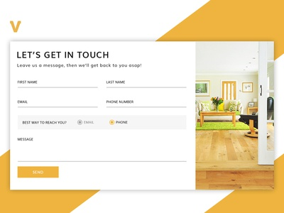 Simple and user friendly Contact Form (Popup)