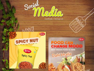 Social Media advertising banners