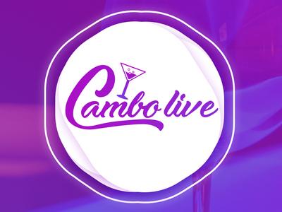 Logo Design for a Club - Cambo Live
