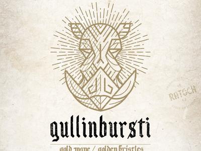 Gullinbursti sun folklore nordic pig board