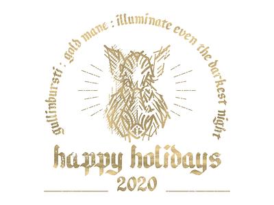 Magic holidays 2020 engraving pig boar