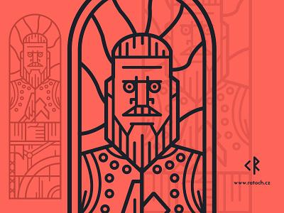 Fearsome viking Ragnar lodbrok lothbrok viking ragnar vikings