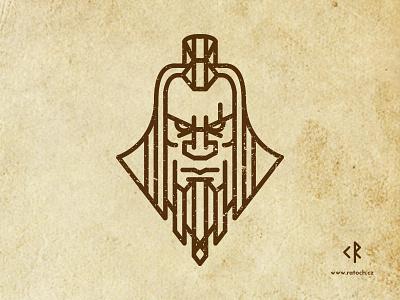 Barbarian logo game logo barbarian
