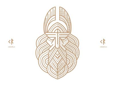 Stribog linework folklore slavic god stribog