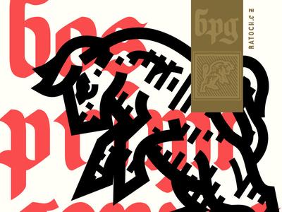 Bull charge logo medieval boss taurus illustration bull logo