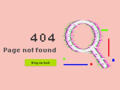 404 page dailyui