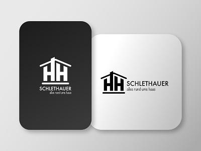 Schlethauer Logo minimal icon vector branding logo design