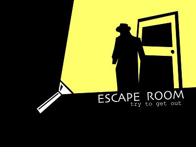 Escape Room Logo web website illustration vector minimal branding design
