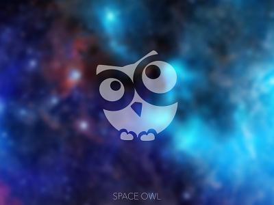 Space Owl Logo youtube banner youtube logo youtube channel youtube icon logo minimal branding design