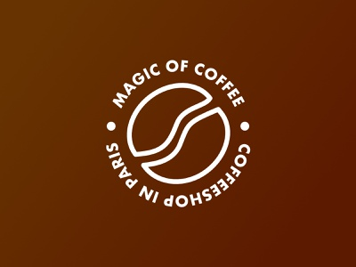 Magic of Coffee Logo ui vector logo branding minimal design