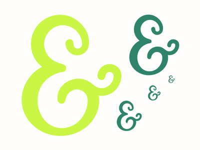 Ampersand 16px ampersand typography vector glyph