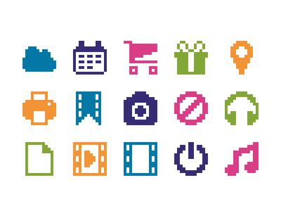 Pixelified (week 3): 15 Free icons