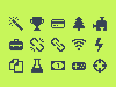 Pixelified (week 4): 15 Free icons