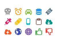 Pixelified (week 5): 15 Free icons