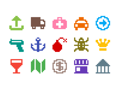 Pixelified (week 7): 15 Free icons