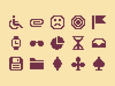 Pixelified (week 8): 15 Free icons