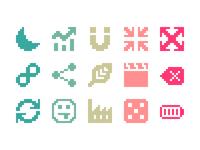 Pixelified (week 9): 15 Free icons
