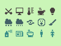 Pixelified (week 10): 15 Free icons
