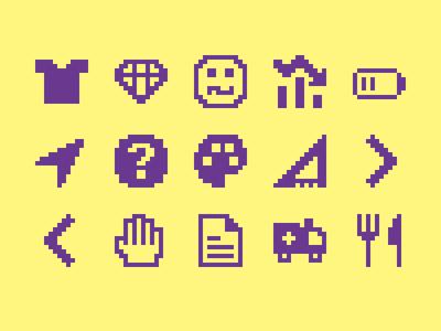 Pixelified (week 11): 15 Free icons