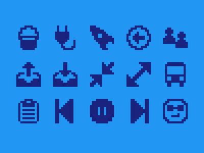 Pixelified (week 13): 15 Free icons
