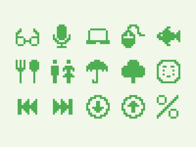 Pixelified (week 14): 15 Free icons