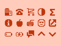 Pixelified (week 15): 15 Free icons
