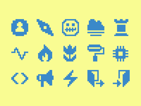Pixelified (week 16): 15 Free icons