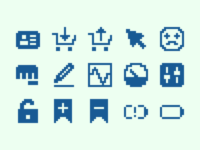 Pixelified (week 17): 15 Free icons