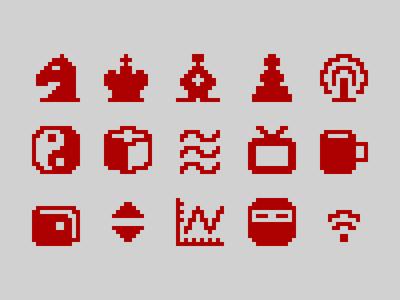 Pixelified (week 18): 15 Free icons