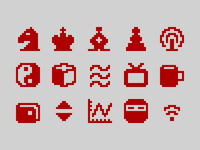 Pixelified (week 18): 15 Free icons
