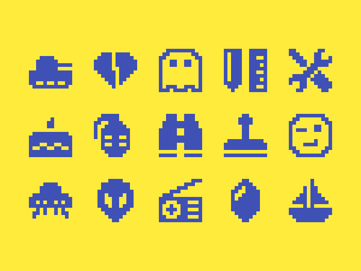 Pixelified (week 19): 15 Free icons