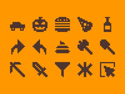 Pixelified (week 20): 15 Free icons