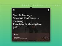 macOS - Lyrics App