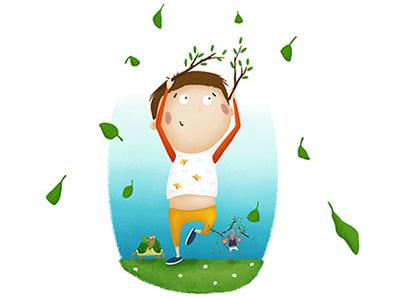 Fun times mouse turtle illustrator nina kovacic nature boy happiness joy fun childrens book illustration children illustration illustration