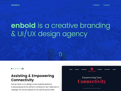 Enbold.Co Landing Page