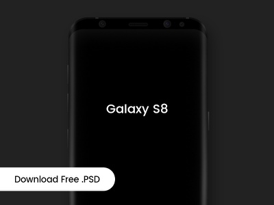 Samsung Galaxy S8 Mockup photoshop psd realistic photo sale download mockup free s8 galaxy samsung