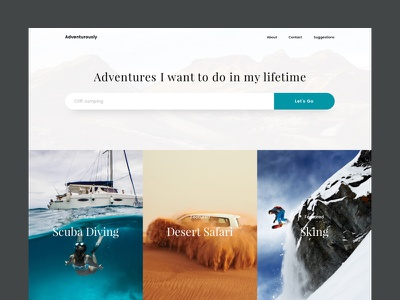 Adventurously search bar images vibrant shadow flat colorful tending ui clean design website adventure
